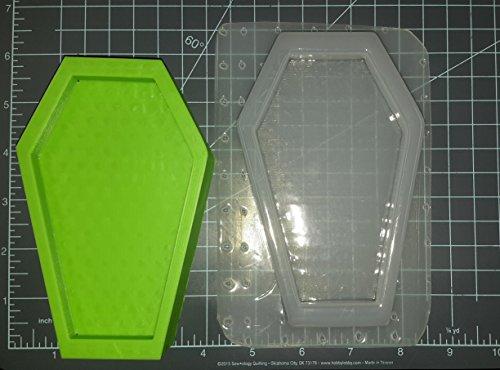 Large Coffin Plastic Mold, Bath Bomb Mold, Casket Mold