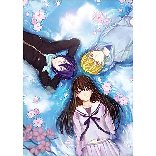 Haushele OFD Anime ノラガミ Noragami beschichtetes Papier Poster Bar Home Schlafzimmer Dekoration Thema Wandbild Poster(H05)