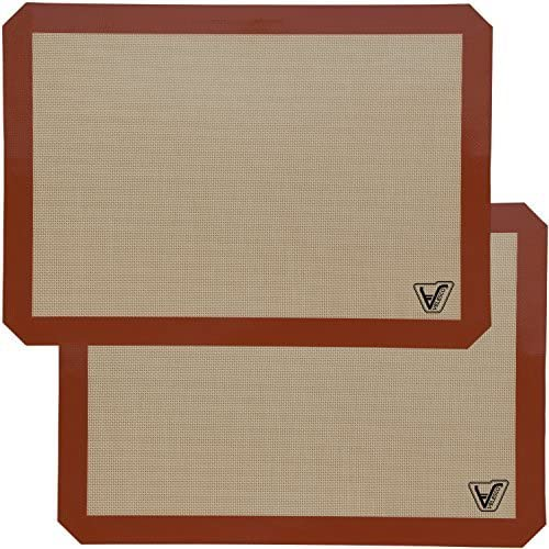 Silicone Baking Mat - Set of Discount is also Arlington Mall underway 2 Large Half 11 8