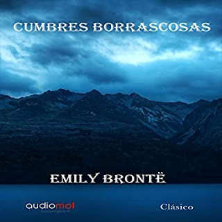 Cumbres borrascosas [Wuthering Heights] audiobook cover art