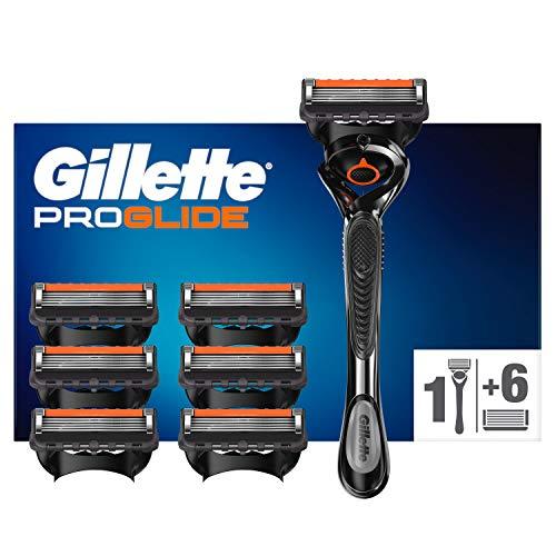 Gillette ProGlide Rasierer Herren mit 7 Rasierklingen, 5 Anti-Irritations-Klingen für eine gründliche, langanhaltende Rasur, aktuelle Version
