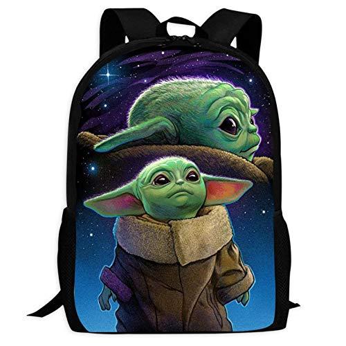 ba-by yo-Da 9 Backpacks Shoulder Bags 3D Printing Kids' Schoolbag Casual Bookbags for Teen Boys Girls