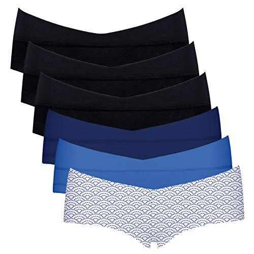 Damen Slip Schlüpfer Unterwäsche Unterhose Underwear mit Baumwoll-Zwickel-001