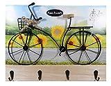 N / A - Perchero para bicicleta (38 x 27,5 cm)