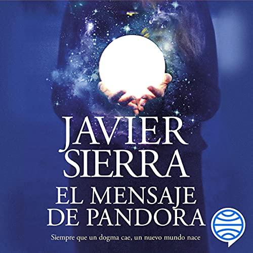 Diseño de la portada del título El mensaje de Pandora