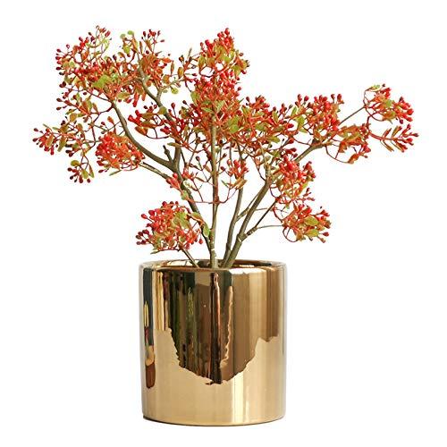 Planta Artificial Artificial en maceta plantas falsas pistacho árbol en maceta las plantas de interior Plantas Sala Decoración Mini Faux con la mina Planta Artficial Decorativa ( Color : A )