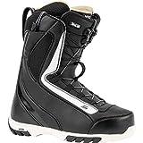 Nitro Snowboards CUDA TLS '20 All Mountain Freestyle - Scarponi da snowboard, da donna, con allacciatura rapida, 25,5 cm, colore: nero