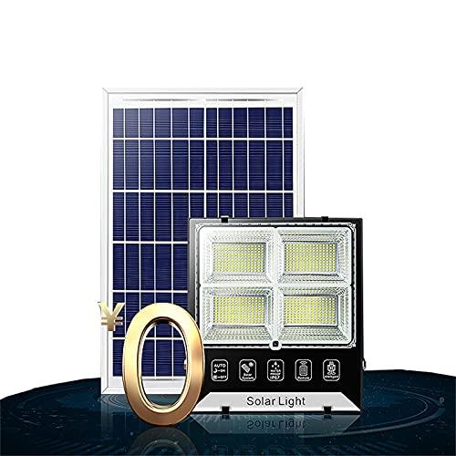 Foco Solar Exterior Potente Luces LED 100W 1500W ,luces Solares Jardin Con Cuentas De Lámpara LED Brillantes,IP65 Impermeable A Prueba De Polvo Y A Prueba De Rayos Lamparas...