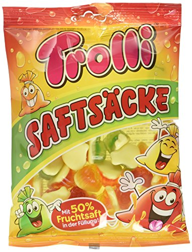 Trolli Saftsäcke, 18er Pack (18 x 175 g)