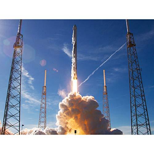 FINE ART PRINTS Space SpaceX CRS-16 Rocket Launch Foto-Poster, Größe XL