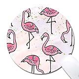 Mauspad - Benutzerdefinierte Flamingo-Bild Niedliche Mausmatte Naturkautschuk Rutschfeste kleine Mauspadmatte für Spiele oder Büro (7,87 'x 0,12')