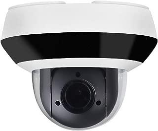 4MP HD PTZ Outdoor POE IP Camera OEM DS-2DE2A404IW-DE3, Pan/Tilt/2.8mm~12mm 4X Optical Zoom, 4-Megapixel (2560x1440),Night Vision 20m,SD Card Recording,Audio Input Output,IP66 and IK10, H.265+