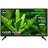 Television LED 32' HD Ready INFINITON Smart TV-Android TV (TDT2, HDMI, VGA, USB) (32 Pulgadas)