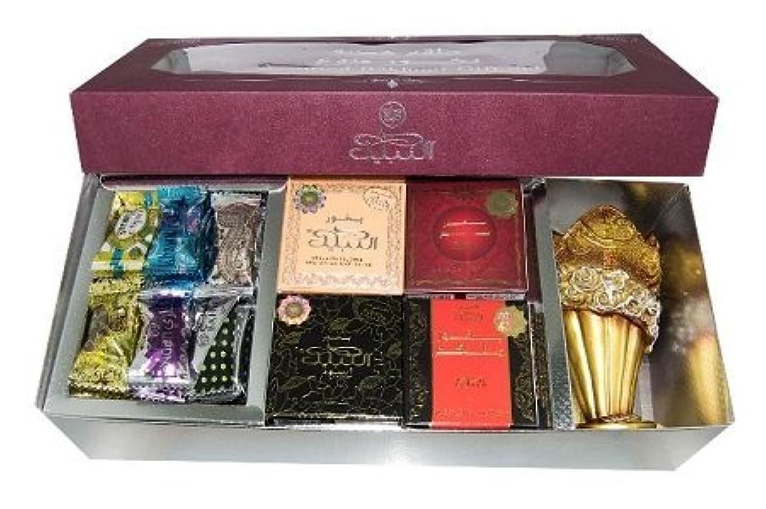論文動幻影Assorted Bakhoorお香ギフトセットby Nabeel by Nabeel Perfumes