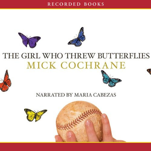 The Girl Who Threw Butterflies audiobook cover art