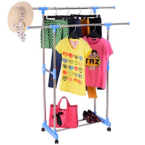 Bastidores de secado, barras dobles que secan la ropa,...