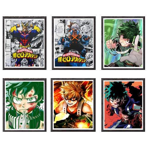 Póster, ilustración de manga, impresión artística...