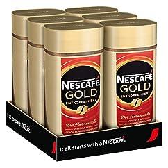 NESCAFÉ Gold Entkoffeiniert 6 x 200 g
