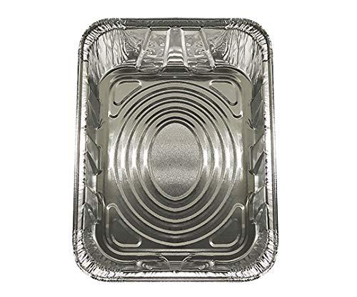 東洋アルミエコー アルミトレー セントラルキッチン 1/2サイズ 100個入 6112Y
