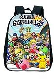 LINJIA Mochila Super Mario Set Juego Super Mario Smash Bros Niños Bolsa Niños Niños Niños Dibujos Animados Niños Bolsas De La Escuela