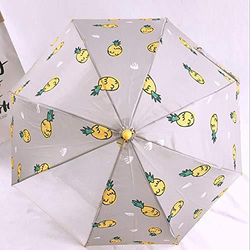 NJSDDB Paraplu, voor kinderen, doorzichtig, paraplu, paraplu, paraplu, voor kinderen