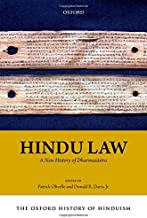 The Oxford History of Hinduism: Hindu Law: A New History of Dharmasastra