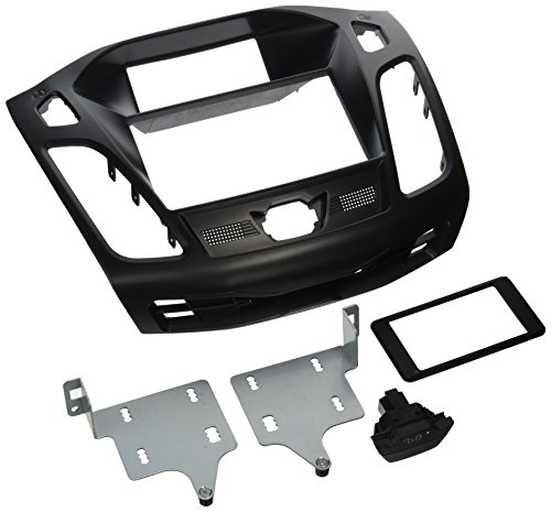 Scosche FD6200B Compatible with 2012-Up Ford Focus ISO Double DIN Dash Kit,...