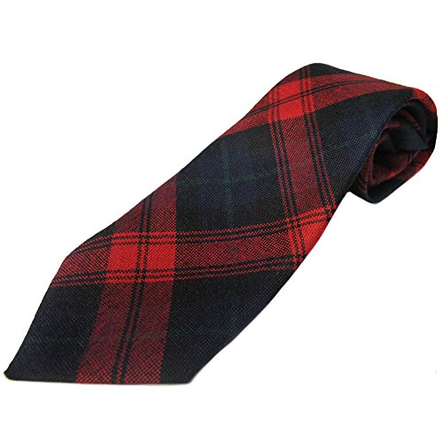 Ingles Buchan - Herren Tartan-Krawatten aus schottischer Wolle - 48 Tartanmuster - MacLachlan