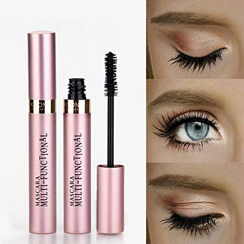 Allbesta 3D Lash Wimperntusche Waterproof Wimpern Verlängerung & Volumen Schwarz Verdicken Make-up