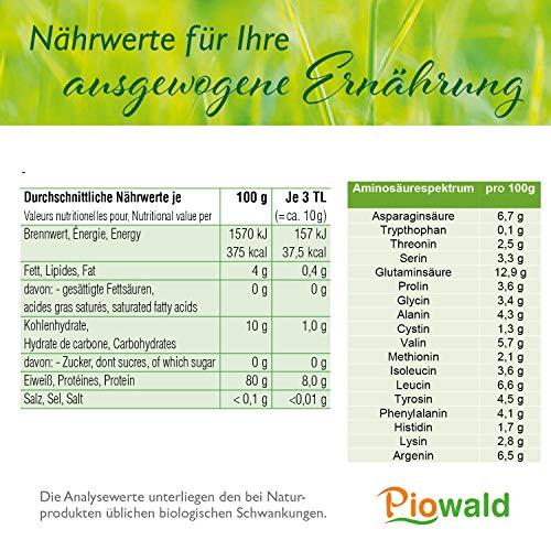 BIO Reisprotein 80% – 1 kg Vorratspackung - 3