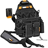 ToughBuilt - Journeyman Electrician ClipTech Pouch Hub with Shoulder Strap, 21 Pockets and Belt Loops (TB-CT-114)
