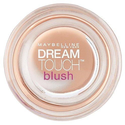Maybelline New York Dream Touch Blush Rouge Peach 02 / Pfirsichfarbenes Rouge-Puder, Make-Up für...