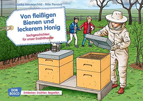 Von fleißigen Bienen und leckerem Honig. Kamishibai Bildkartenset.: Entdecken - Erzählen - Begreifen: Sachgeschichten (Sachgeschichten für unser Erzähltheater)