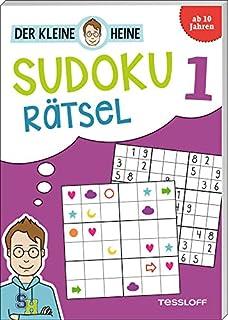 Der kleine Heine Sudoku Rätsel 1. Ab 10 Jahren: Kniffliger