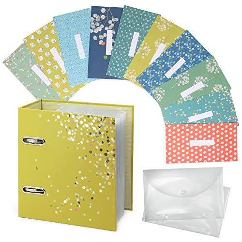 Boxclever Press Budget Binder With Cash Envelopes. Get To Grips With Your Finances With This Stylish Cash Envelope Binder. Includes 12 x Reusable Cash Envelopes For Budgeting & 12 x Budget Sheets.
