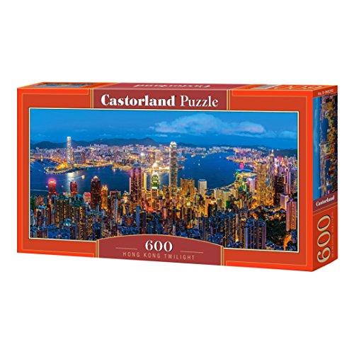 Castorland Hong Kong Twilight 600 pcs Puzzle - Rompecabezas