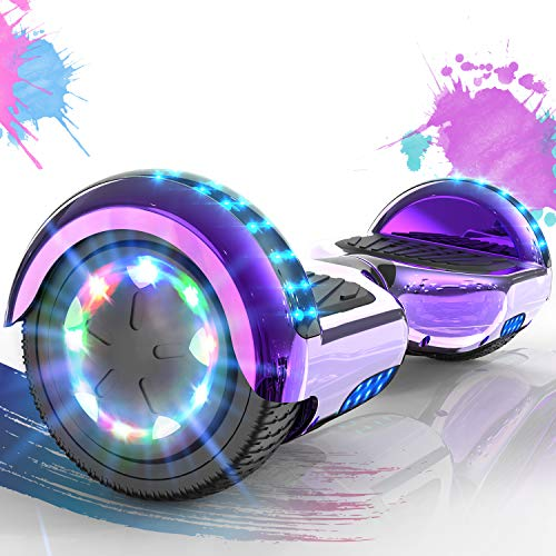 "Hoverboard Self Balance Scooter 6,5\"" - 2020 Elektro Scooter E Skateboard - Scooter - UL zertifizierten 2272 LED - Räder mit LED Licht -Bluetooth Lautsprecher – 700W Motor"