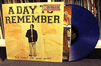 For Those Who Have Heart LP (Dark Blue w/ Black Smoke) (Limited to /650 copies)
