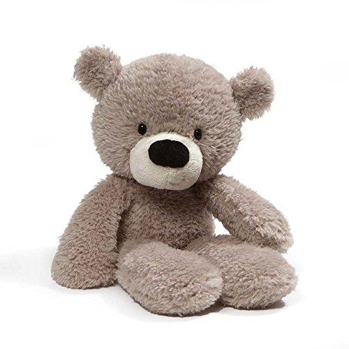 "GUND Fuzzy Teddy Bear Stuffed Animal Plush, Gray, 13.5"" -  4059989"