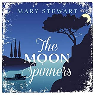 The Moon-Spinners audiobook cover art