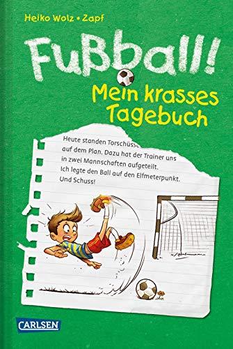 Fußball! Mein krasses Tagebuch: EM 2021 - Lustiger Fußball-Roman in großer Schrift mit vielen Bildern (1)