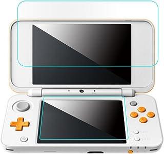 ZOUCY 1 Juego de Protector de Pantalla LCD de Cristal Templado para Nintendo New 2DS XL