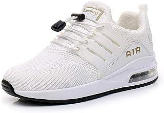 Chaussures de Course Homme Femme légères Sneakers Chaussures de Sport Respirantes et Antichocs Basket Fitness Jogging 34-46EU