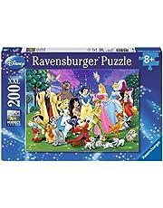 Ravensburger Barnpussel 12698 – Disney Favorit – 200 stycken