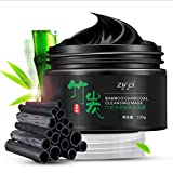 ZIFEI Bamboo Charcoal Tear Pull Black Mask Cleansing Blackhead Remover Acne 100g