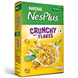 NesPlus Crunchy Flakes is made with wholegrains of Corn and Oats to add the perfect crunch to your breakfast Calcium and Vitamin D combination helps you maintain bone health Source of Iron, Folic acid, B-Vitamins and Fibre NesPlus Crunchy Flakes cont...