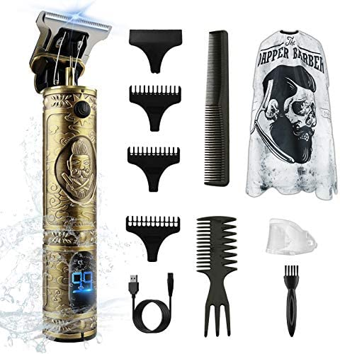 Professional Pro Li Hair Trimmer Electric T Blade Cordless Hair Clipper for Men 0mm Baldheaded product image