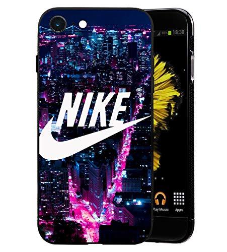 Just Do It Logo iPhone 5/5S Funda, Carcasa Silicona Protector Anti-Choque Ultra-Delgado Anti-arañazos Case Caso para Teléfono iPhone 5/5S, Times Square