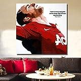 UQstyle Wayne Rooney Fußball Stars Poster Bild von Hand