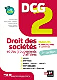 DCG 2 - Droit des sociétés et autres groupements d'affaires - Manuel et applications